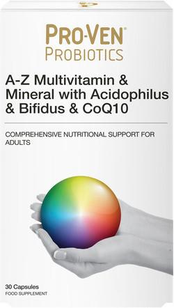 Pro-Ven Probiotics A-Z Multi Mineralen & Probiotica 30 capsules