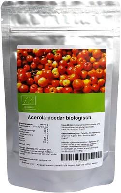 Acerola poeder biologisch 125 gram