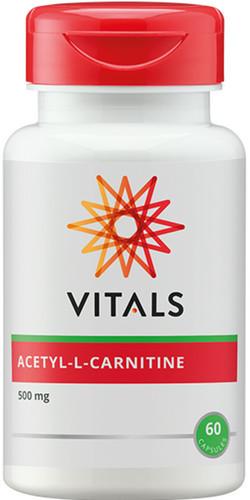 Vitals Acetyl-L-Carnitine 500 mg 60 vegetarische capsules