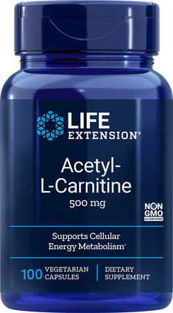 Life Extension Acetyl-L-Carnitine 500 100 capsules