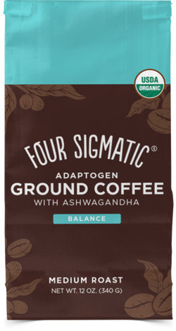 Four Sigmatic Adaptogen Coffee With Ashwagandha & Tulsi 340 gram