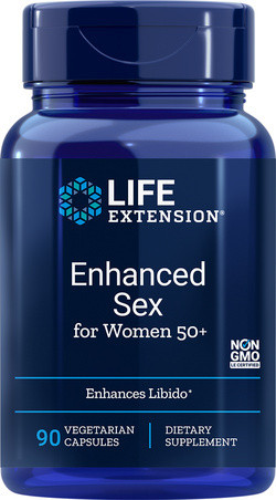 Life Extension Advanced natural sex for women 50+ 90 capsules
