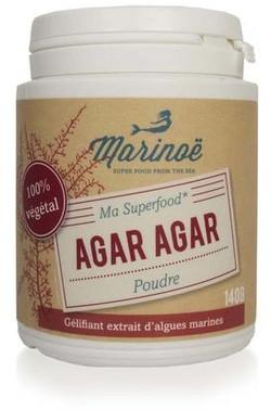 Marinoë Agar Agar 140 gram biologisch