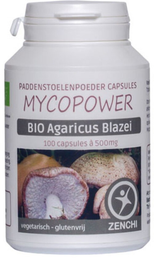 Mycopower Agaricus Blazei Murill Caps 100 capsules biologisch