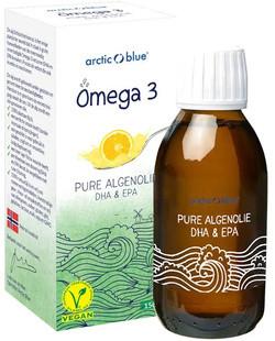 Arctic Blue Omega 3 pure algenolie 150 milliliter