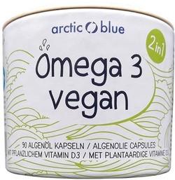 Arctic Blue Vegan Algenolie met vitamine D 90 vegetarische capsules