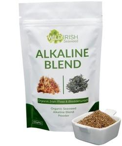 Wild Irish Seaweeds Organic Irish Alkaline Blend 225 gram biologisch