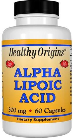 Healthy Origins Alpha lipoic Acid 300 mg