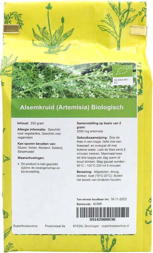 Shakthee Alsemkruid (Artemisia) Bio biologisch