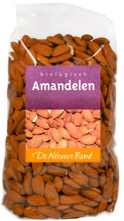 De Nieuwe Band Amandelen Biologisch 1000 gram biologisch