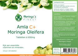 Moringa's Finest Moringa Tabletten 520 mg & 130 mg Amla