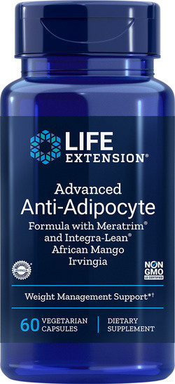 Life Extension Advanced Anti-Adipocyte 60 capsules