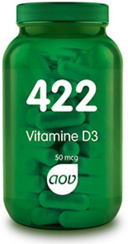 AOV Vitamine D3 2000 50 mcg - 422 120 tabletten