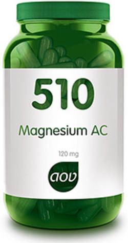 AOV Magnesium 510 AC Glycinaat 60 vegetarische capsules