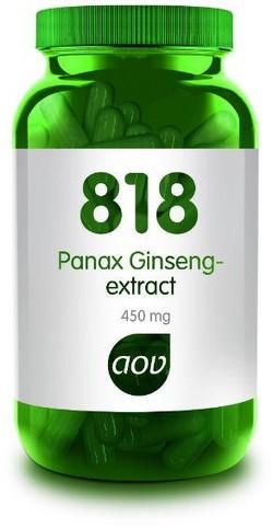 AOV Panax Ginseng Extract - 818 180 vegetarische capsules