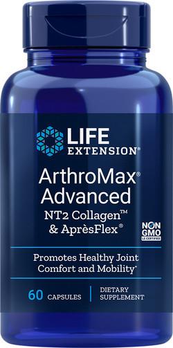 Life Extension ArthroMax® Advanced with NT2 Collagen™ & AprèsFlex® 60 capsules