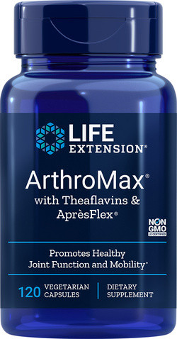Life Extension ArthroMax® with Theaflavins & AprèsFlex® 120 capsules