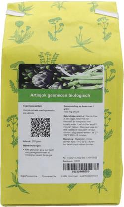 Shakthee Artisjok gesneden biologisch 250 gram biologisch