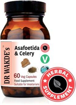 Dr. Wakde Asafoetida & Celery 60 capsules