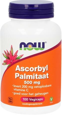 NOW Foods Ascorbyl Palmitaat 500 mg 100 capsules