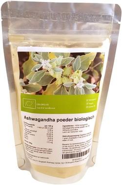 Ashwagandha poeder biologisch 250 gram