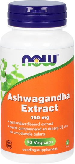 NOW Foods Ashwagandha Extract 450 mg 90 capsules