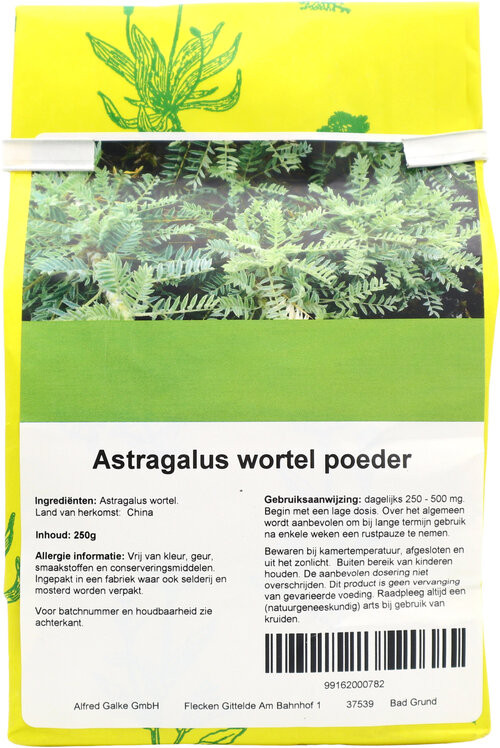 Shakthee Astragalus wortel theepoeder