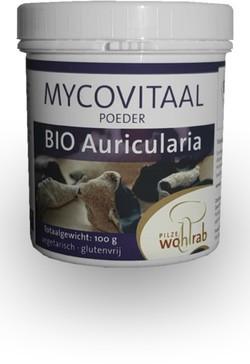 Mycovitaal Auricularia poeder 100 gram biologisch