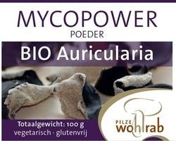 Mycopower Auricularia poeder 100 gram biologisch
