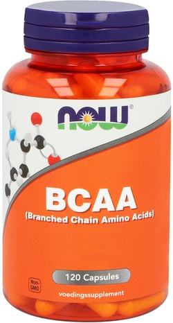 NOW Foods BCAA 120 capsules
