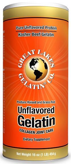 Great Lakes Gelatine Poeder Beef 454 gram poeder
