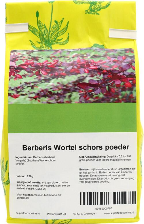 Shakthee Berberis wortel schors theepoeder 250 gram