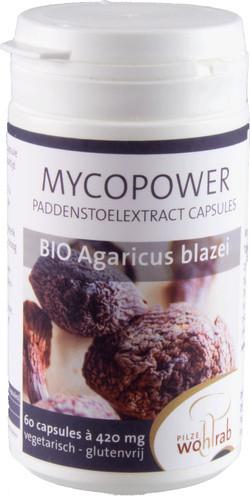 Mycopower Agaricus Blazei extract biologisch