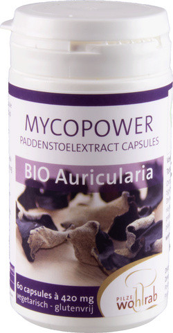 Mycopower Auricularia extract biologisch