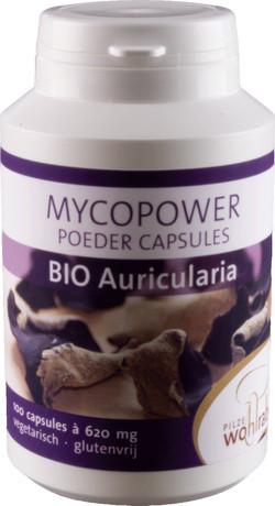 Mycopower Auricularia Caps 100 capsules biologisch