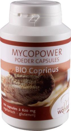 Mycopower Coprinus Capsules 100 capsules biologisch
