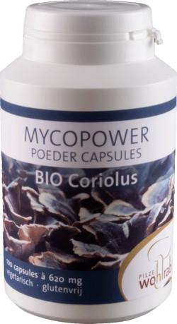 Mycopower Coriolus Caps 100 capsules biologisch