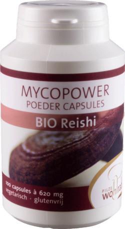 Mycopower Reishi Ganoderma Caps 100 capsules biologisch