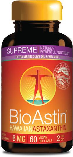 Nutrex Hawaii Astaxanthine Bioastin 6 mg 60 vegetarische capsules