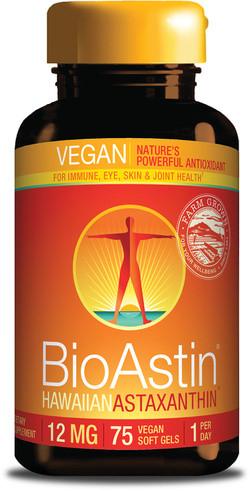 Nutrex Hawaii Vegan Astaxanthine Bioastin 12 mg