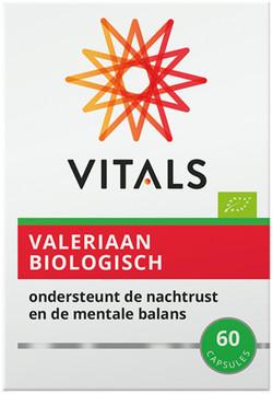 Biologische valeriaan capsules Vitals
