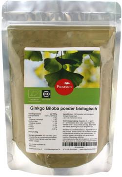 Ginkgo Biloba Poeder biologisch