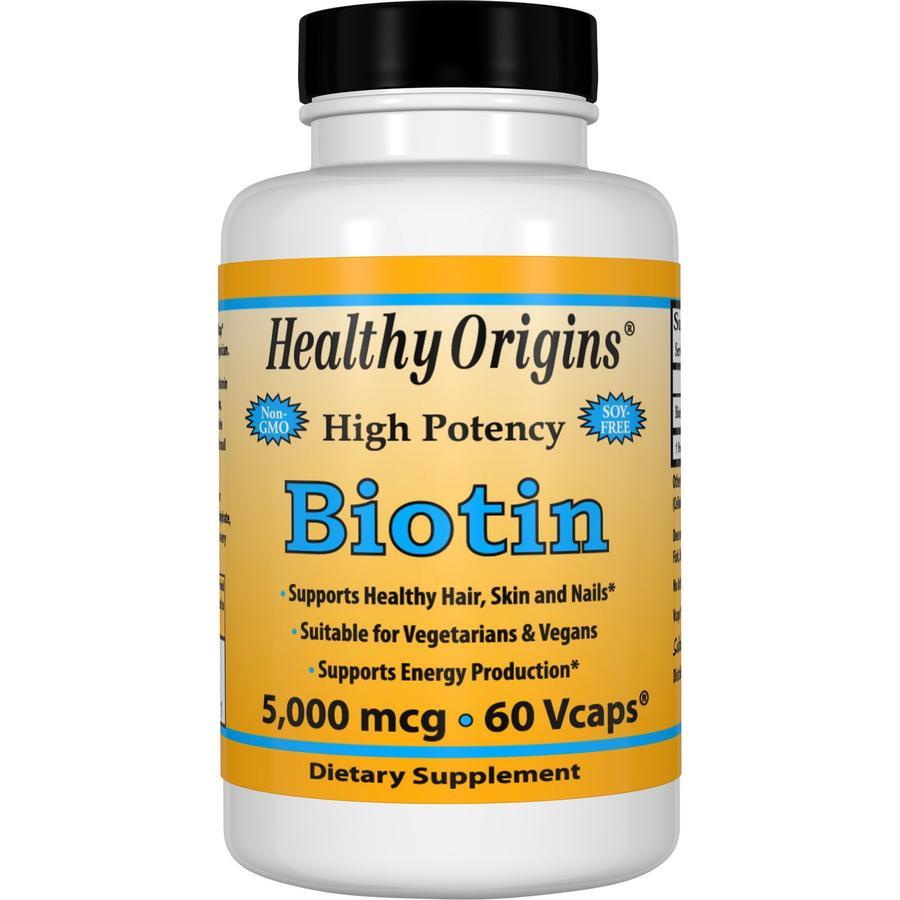 Healthy Origins Biotin 5000 mcg