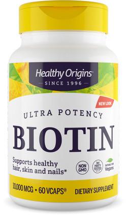 Healthy Origins Biotin 10000 mcg