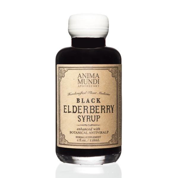Anima Mundi Black Elderberry Syrup 118 milliliter