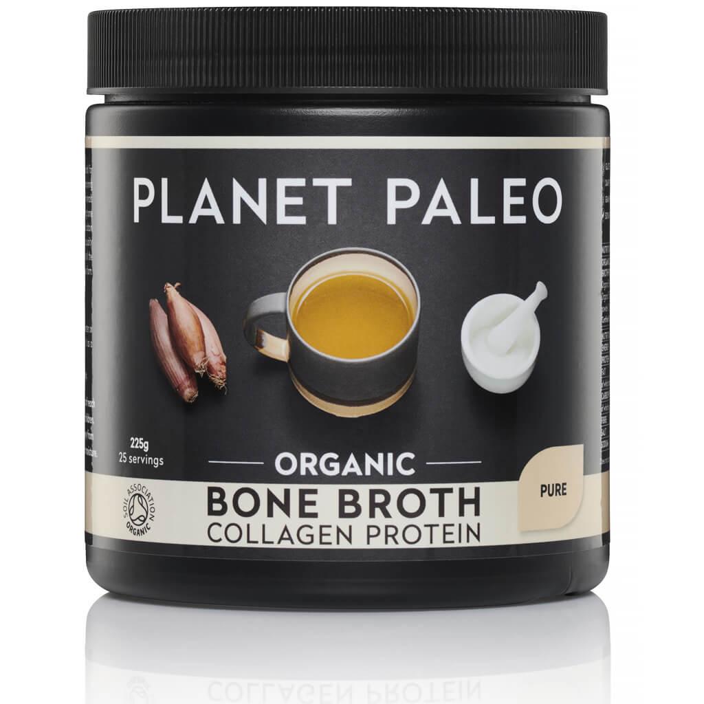 Planet Paleo Bone Broth Collagen Protein Pure Bio 225 gram biologisch
