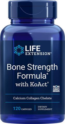 Life Extension Bone Strength Formula with KoAct 120 capsules