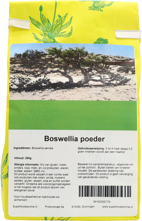 Shakthee Boswellia Gom theepoeder 250 gram