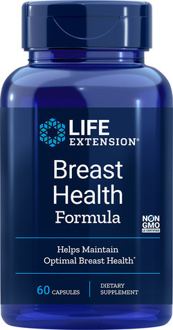 Life Extension Breast Health Formula 60 capsules