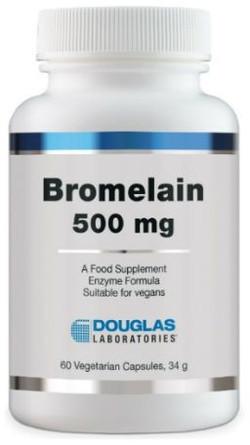 Douglas Laboratories Bromelain-500 60 capsules
